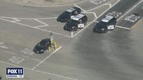 CHP officers arrest driver following pursuit in San Fernando Valley