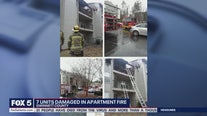 Fire damages multiple Gwinnett County apartments
