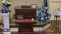 K-9 Thorr funeral