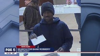 Search for bank robbery
