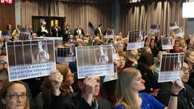 Animal advocates pack county meeting, beg commissioners to ban pet sales at stores