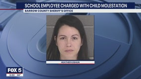 Barrow County school employee faces child molestation charges
