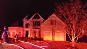 Fire officials investigate Johns Creek house fire