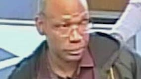 Police search for man who shoved bank clerk, tried to pass bad check