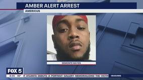 Texas man arrested after Amber Alert