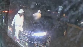 New surveillance video shows armed carjacking in Atlanta
