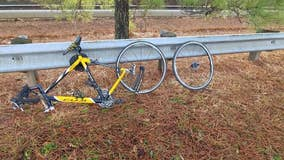 Adding insult to injury, cyclist struck by hit-and-run driver Christmas Eve loses only means of transport