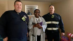 Firefighters help reunite Georgia woman with Bible after car crash