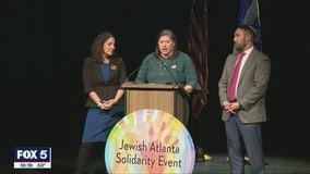 Atlanta Jewish Solidarity Event held in Sandy Springs