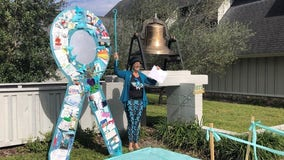 Florida woman 'rings' in 2020 cancer-free