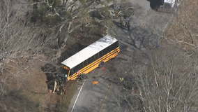 Driver killed in head-on collision with Georgia school bus