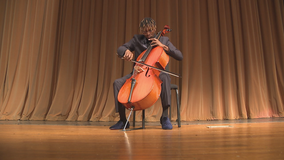 Cobb County high school cellist heading to Carnegie Hall