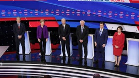Last Democratic debate before primary voting ends with talk of hope for 2020