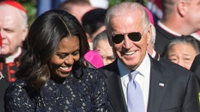 Joe Biden says he 'sure would like' Michelle Obama to be vice president