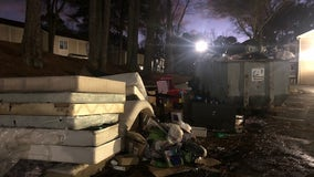 Residents of Fulton County apartment complex fed up with trash pile up