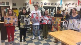 Kell art students portray Atlanta Sports Hall of Fame Class of 2020
