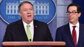 US announces new sanctions on Iran after missile strikes