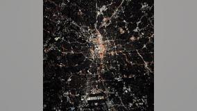 NASA astronaut shares photo of Atlanta from space station