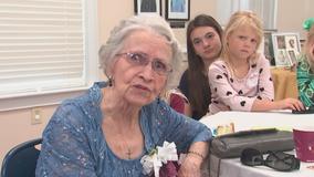 World War II veteran celebrates 100th birthday in Marietta