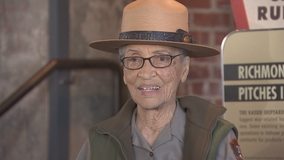 Nation's oldest park ranger back at work after stroke