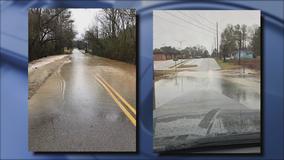 Flooding causes multiple road closures in LaGrange