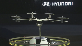 Uber, Hyundai announce 'flying' taxis