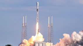 SpaceX launches Falcon 9 rocket, sending Starlink satellites into space