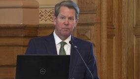 Gov. Brian Kemp talks Georgia budget at legislative hearing