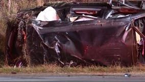 'They were all unrestrained.' 6 children seriously injured in rollover wreck on I-485