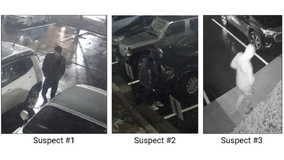 Police: 2 hours, 26 vehicles, 7 locations, and 3 suspects on the run