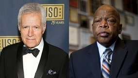 Alex Trebek to Rep. John Lewis: Let's survive cancer in 2020