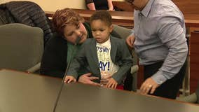 South Jersey 3-year-old invites entire class to adoption ceremony