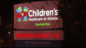 Water leak at Children's Healthcare of Atlanta