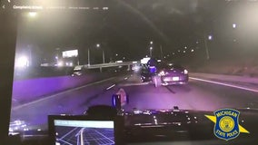 Man tries to jump out of moving car in I-94 chase with Michigan State Police