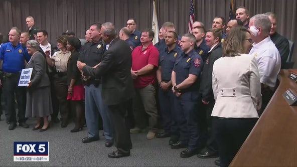 Cobb County commissioners approve raise for public safety employees