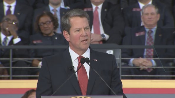 Georgia Gov. Brian Kemp officially launched his 2022 campaign