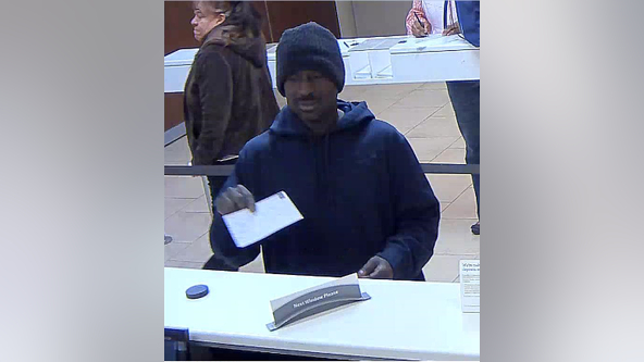 Cobb County police arrest suspected bank robber