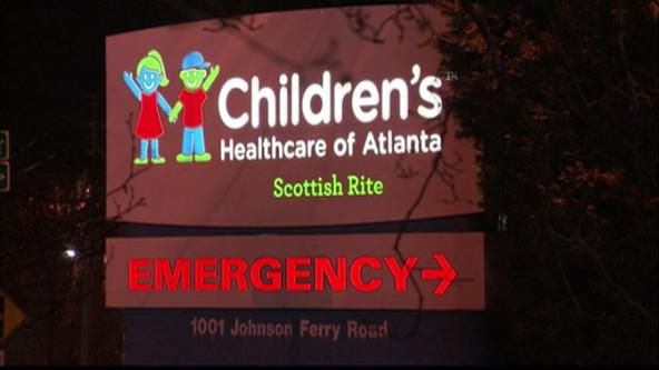 Water leak at Children's Healthcare of Atlanta