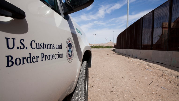 99ab3f24-A Customs and Border Protection vehicle is shown near the U.S.-Mexico border in a file photo. (Photo by Jinitzail Hernández/CQ-Roll Call, Inc via Getty Images)