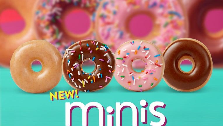 The tiny treats are each less than 100 calories. (Krispy Kreme)