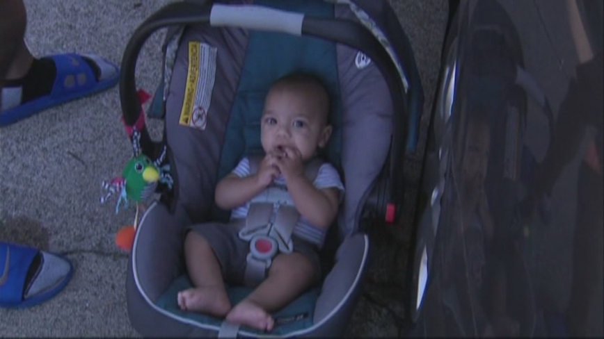 Georgia counties get grant to give out free child car seats