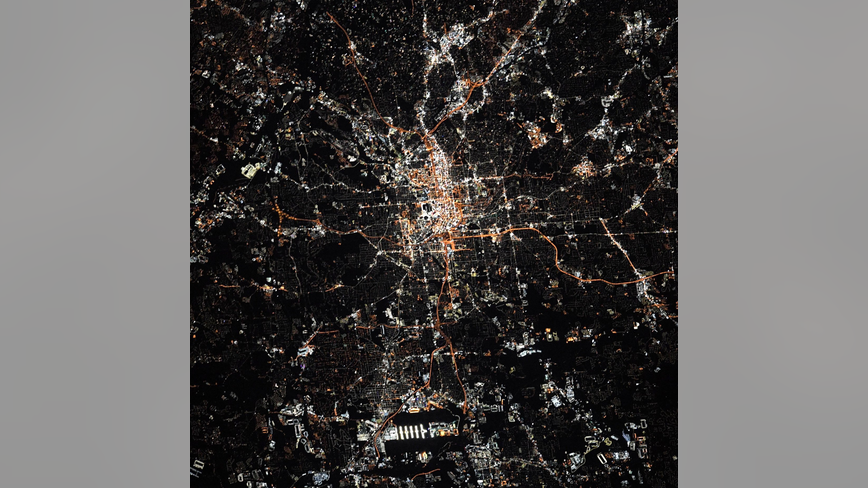 NASA astronaut shares photo of Atlanta from space station