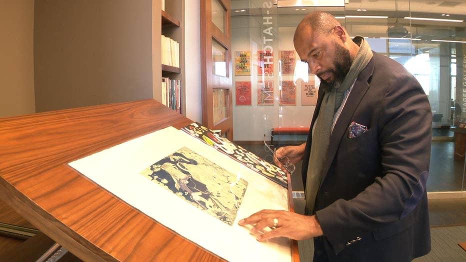 Pellom McDaniels looks at illustration