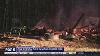 One dead in Coweta County mobile home fire