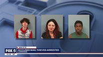 Mail theft arrests