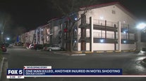 1 man killed, another injured in motel shooting