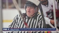 UGA hockey team equipment manager in critical condition
