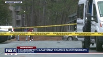 3 charged with apartment complex shooting death