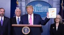 Trump urges calm even as US reports worrisome new coronavirus case