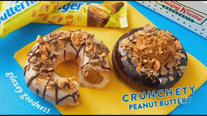 Krispy Kreme, Butterfinger unveil limited-time doughnuts